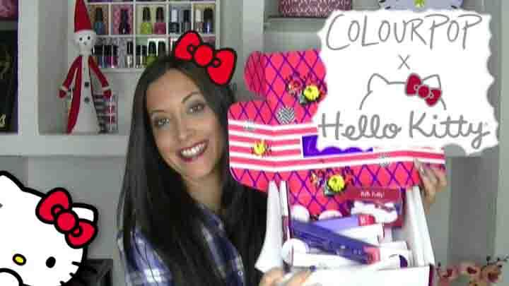 Haul Colourpop x Hello Kitty
