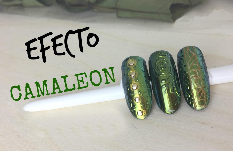 Diseños con pigmento Efecto Camaleón - CoralsaNails®