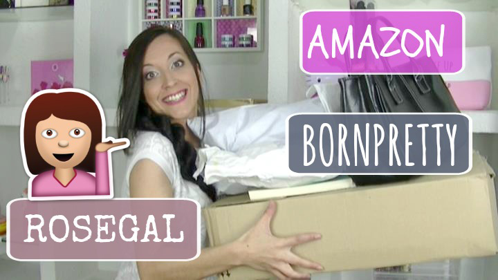 Últimas Compras (Amazon, Bornpretty, Rosegal…)