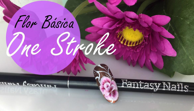 Flor Básica en One Stroke