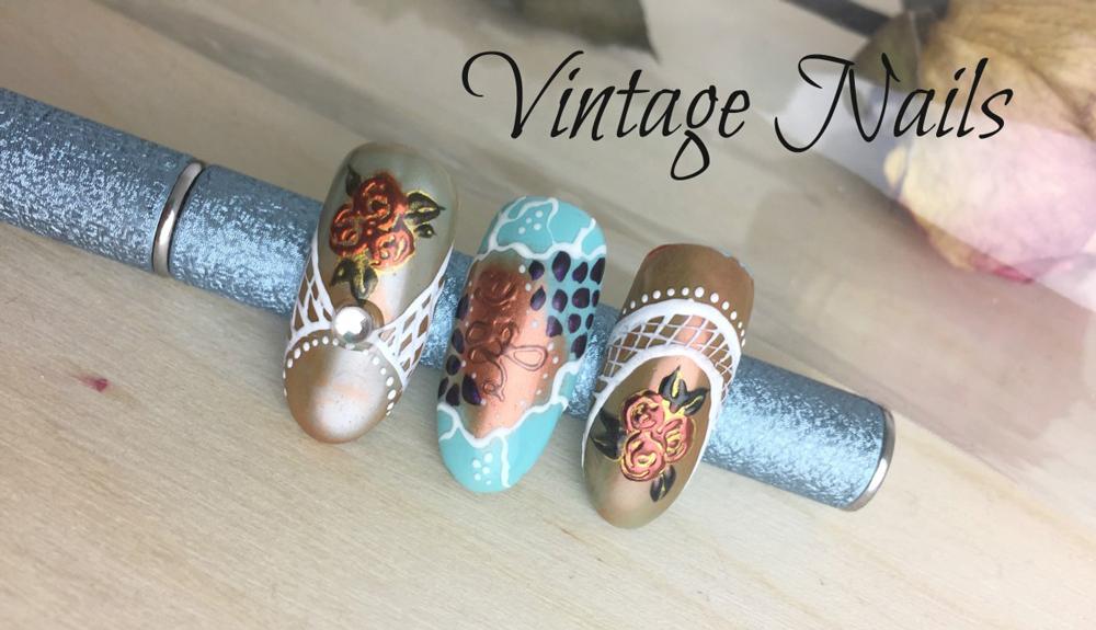 Diseños Vintage con Pigmentos