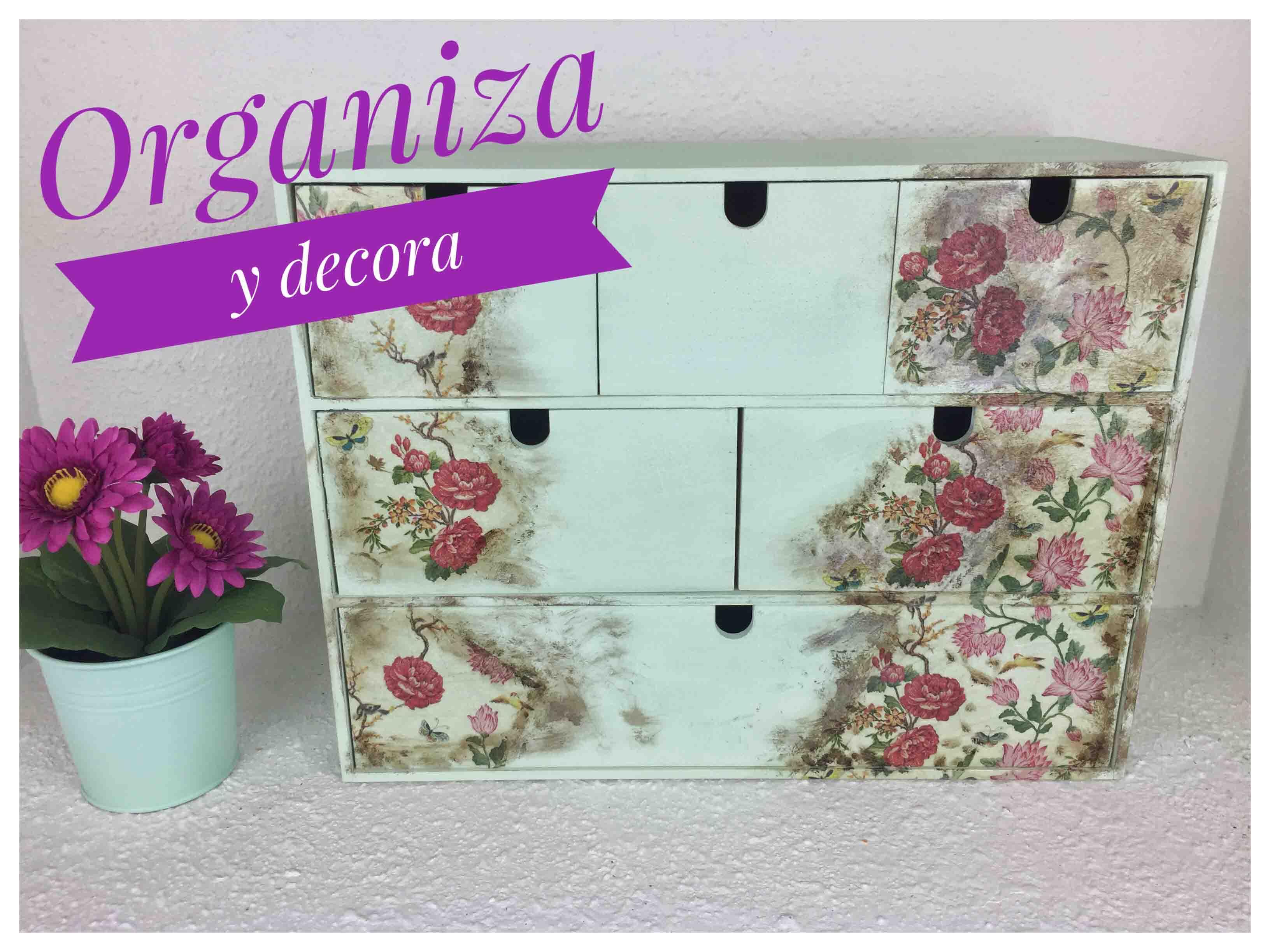 DIY – Haz un Mueble Vintage – Organización