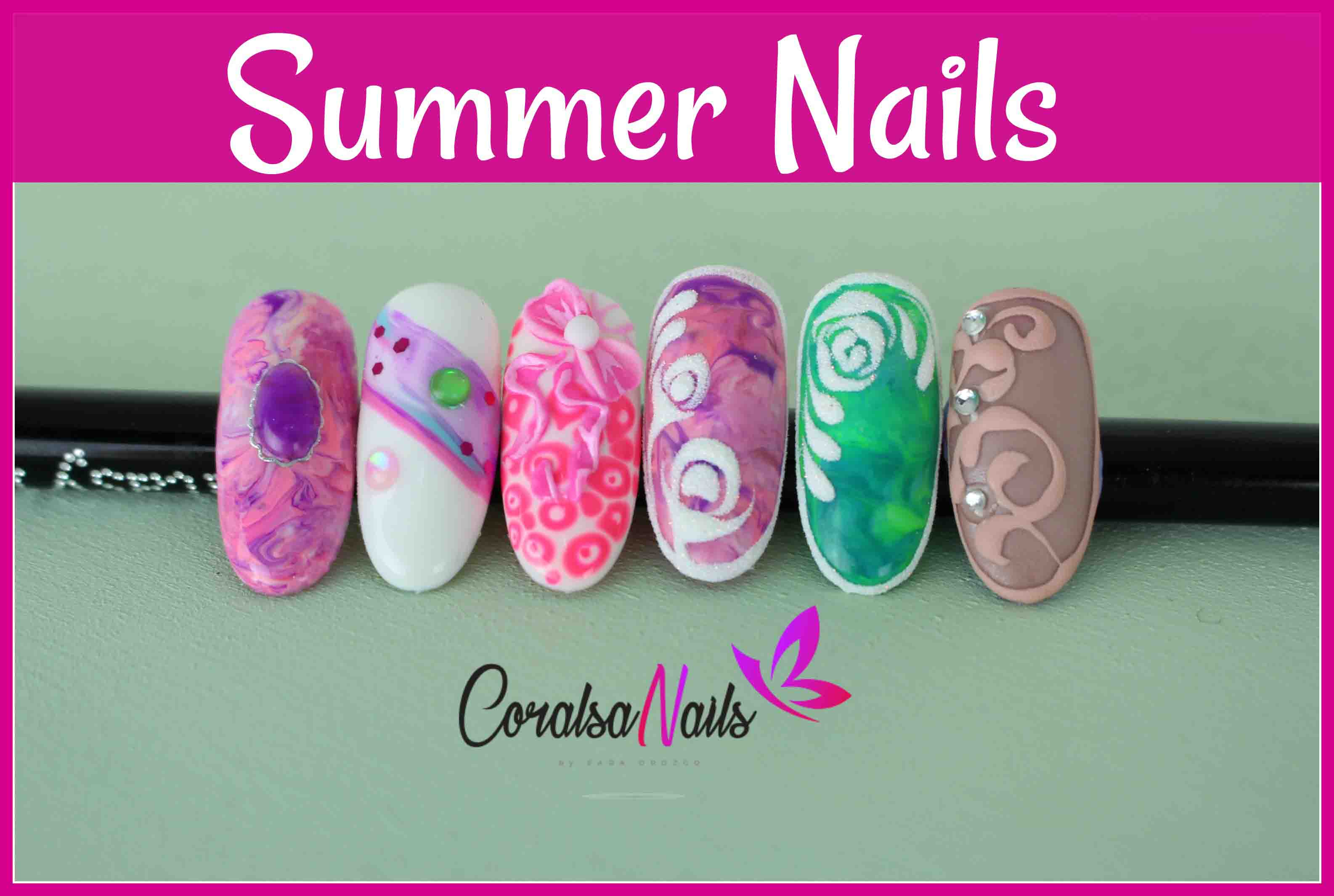 Como decorar tus uñas para este verano - CoralsaNails®