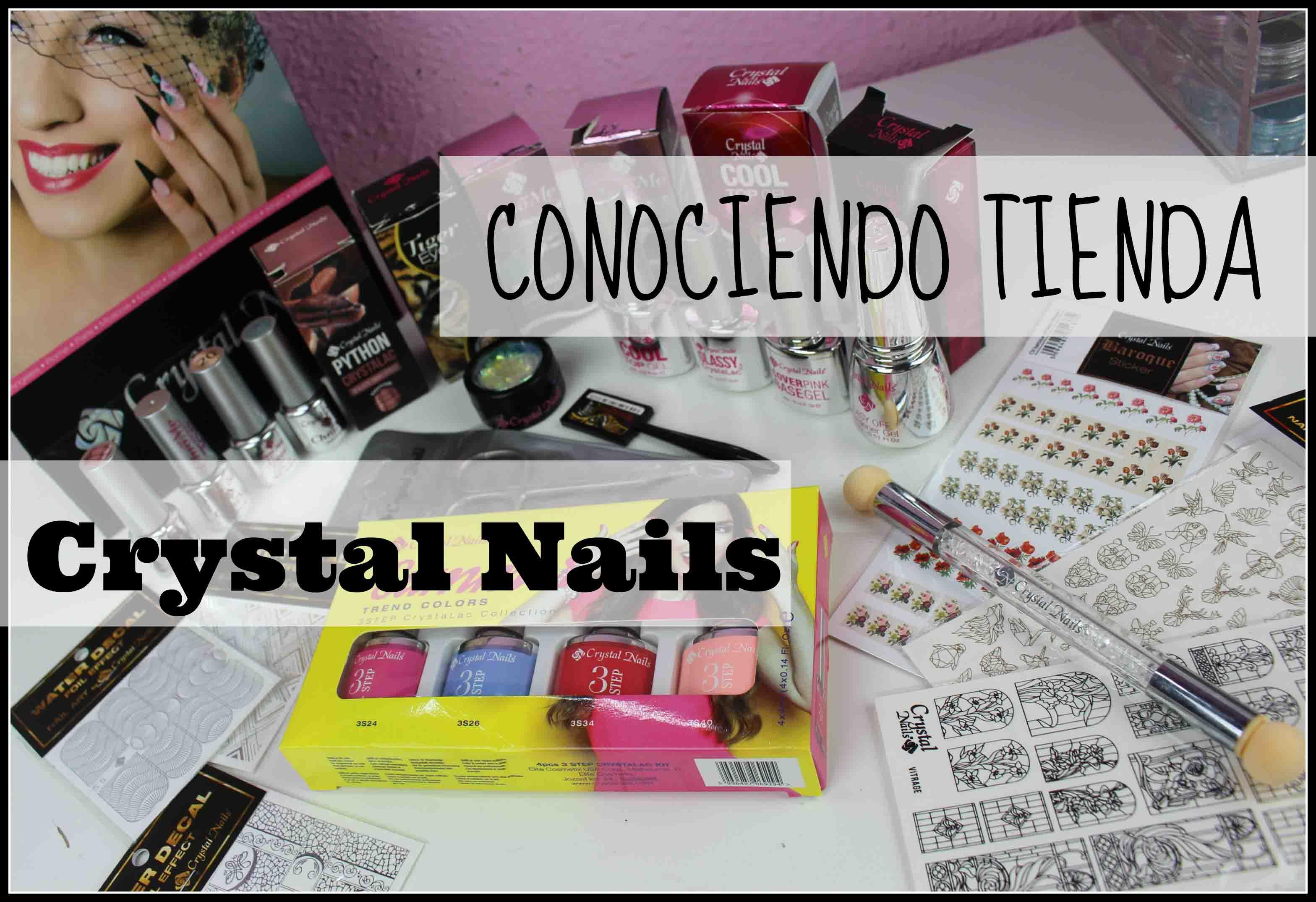 Crystal Nails. Tienda Física y Compritas