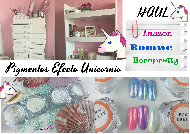 Pigmentos efecto Unicornio Bornpretty