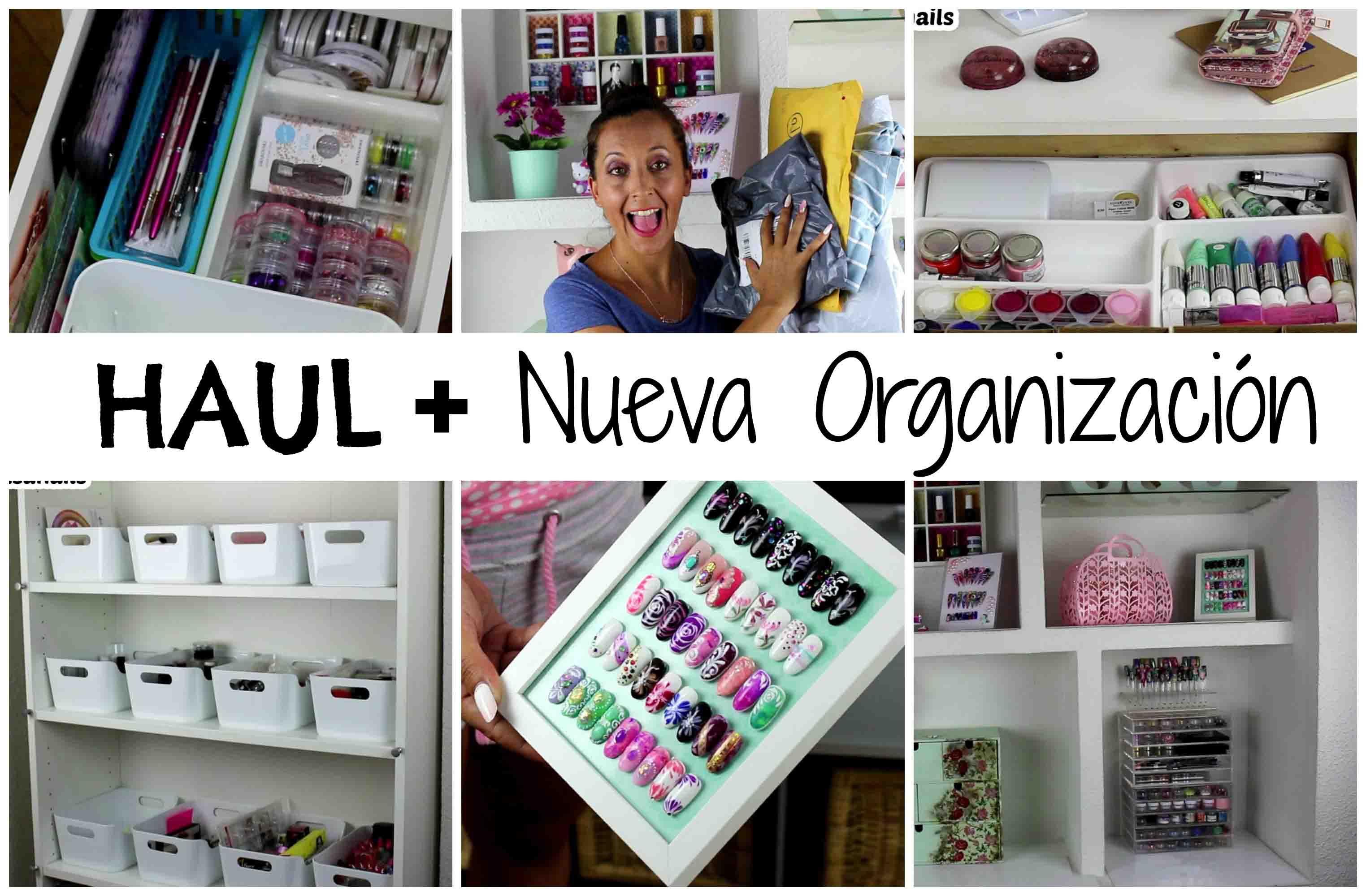 Haul Shein/NewChic/IKEA Más nueva Organización uñas