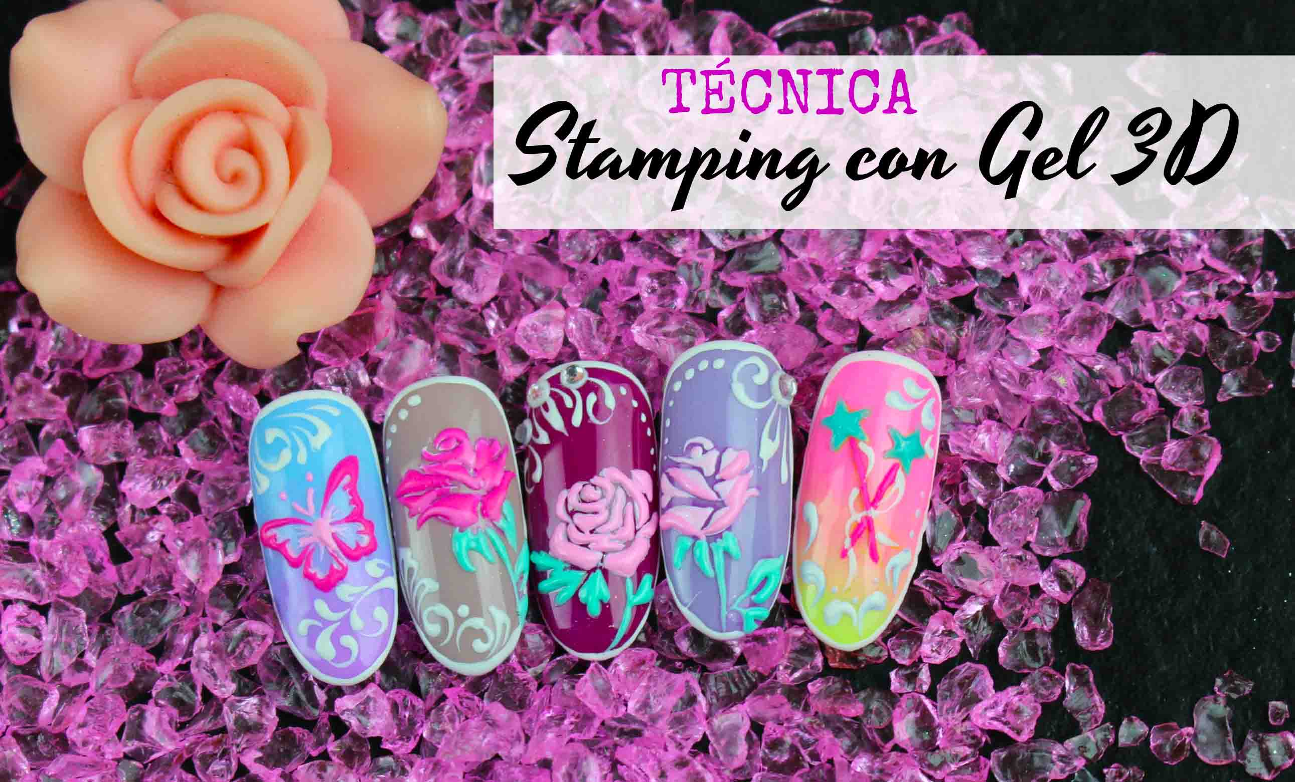 Técnica Stamping con Gel 3D