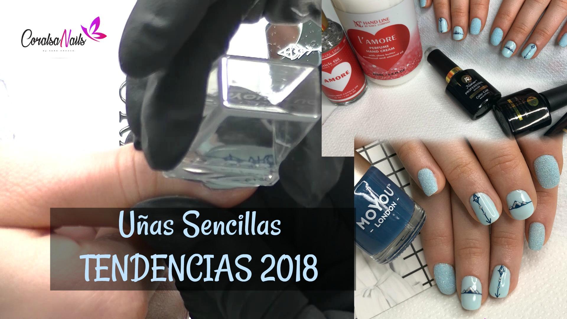 Uñas Tendencias 2018. Diseño sin manicura