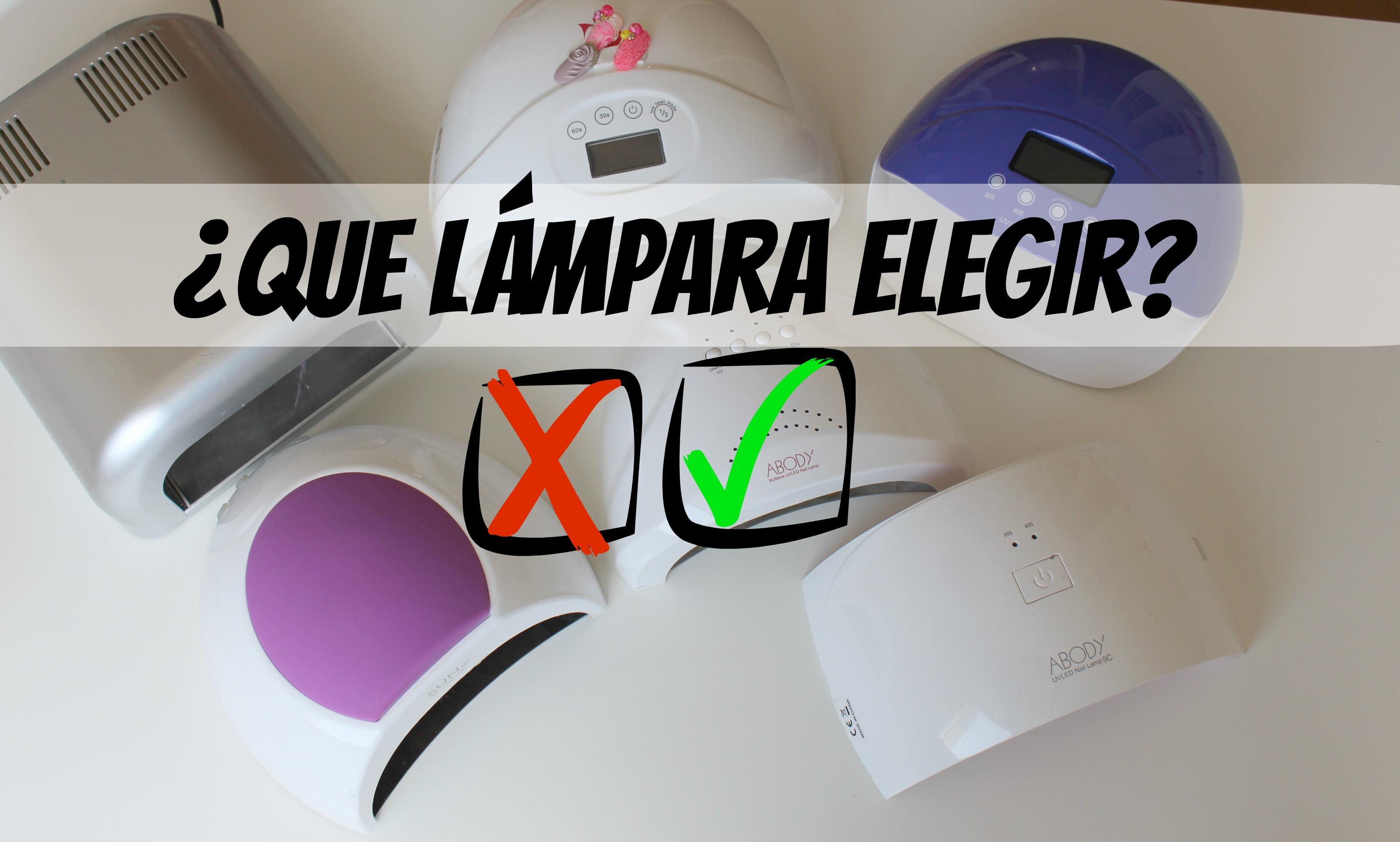 ¿Que Lámpara de Uñas elegir? UV/ Led