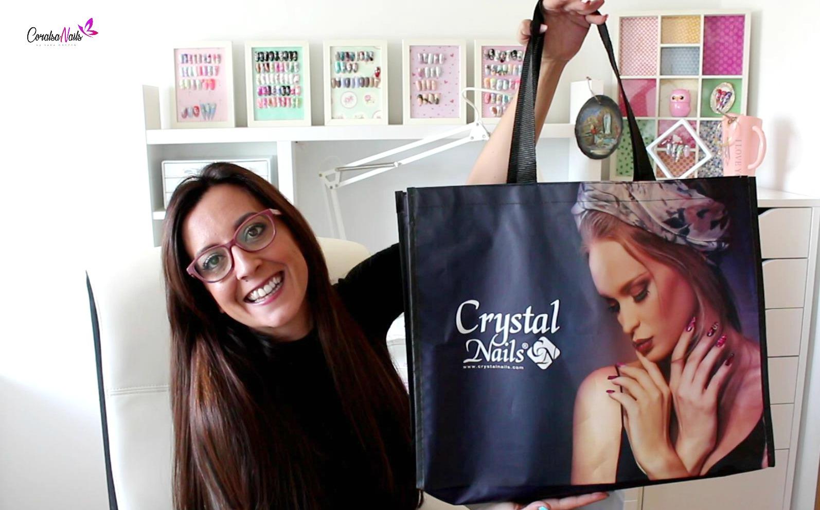 Novedades CrystalNails más Visitando su tienda en Madrid