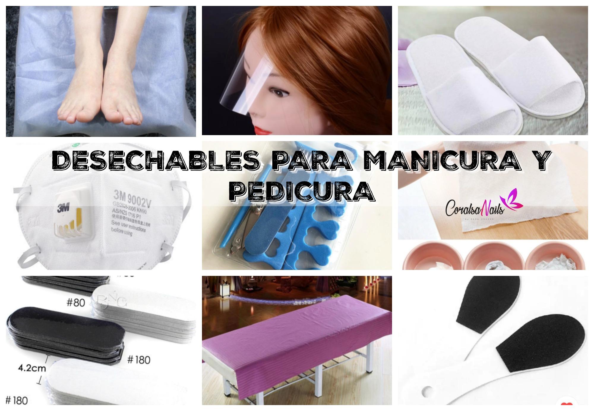 Productos Desechables para Manicura y Pedicura