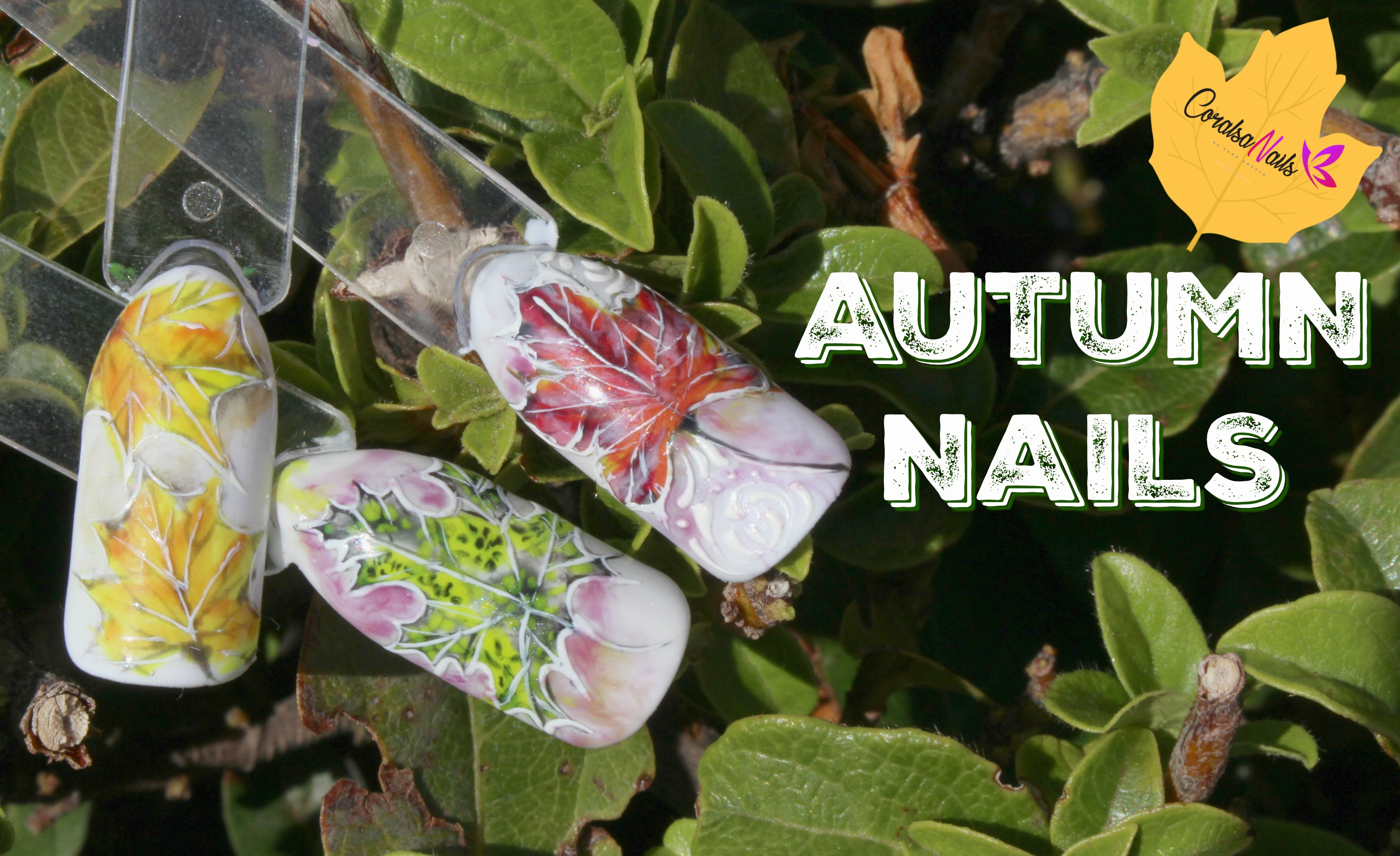 Autumn Nails. Tutorial paso a paso