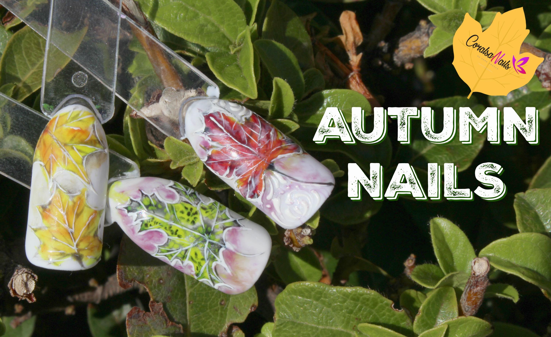 Autumn Nails. Tutorial paso a paso