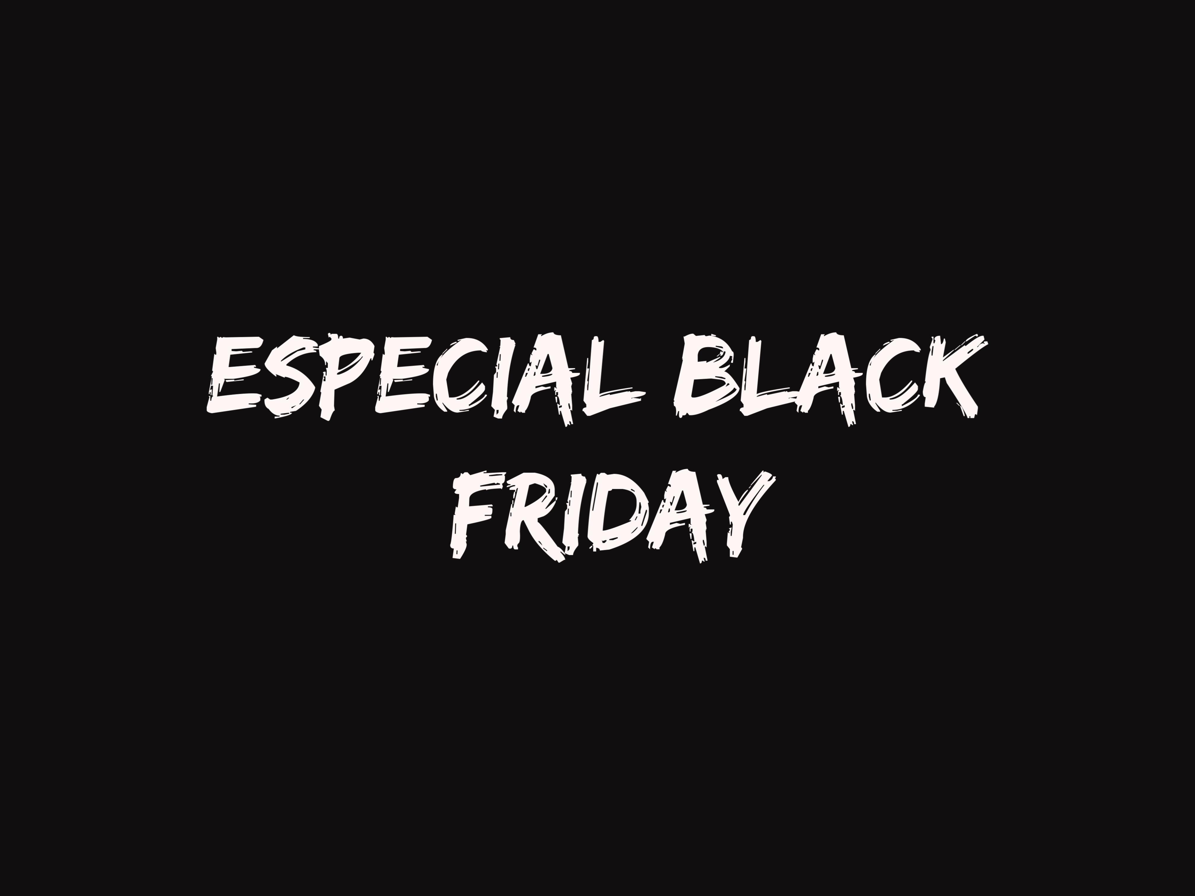 Semana de los Descuentos. Especial Black Friday