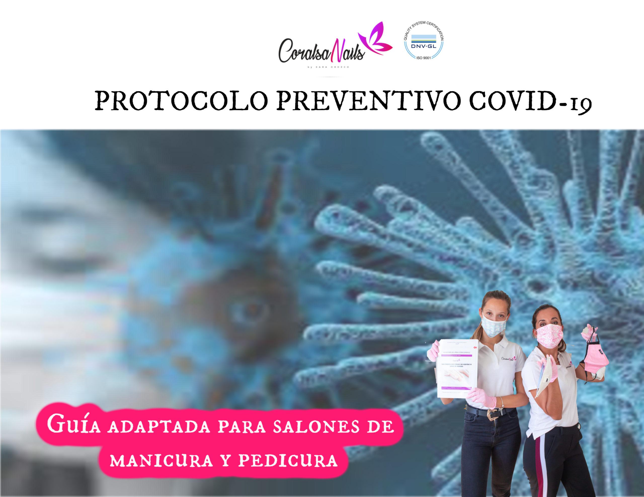Guía Protocolo Preventivo Covid-19 Adaptado para salones de Manicura